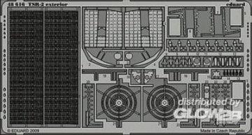 TSR-2 exterior Für Airfix  Bausatz · EDU 48616 ·  Eduard · 1:48