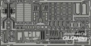 Mosquito B Mk.IV exterior Für Revell Bausatz · EDU 48617 ·  Eduard · 1:48
