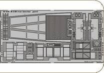 B-24D rear - Interior [Revell] · EDU 48636 ·  Eduard · 1:48