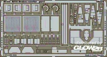 RF-35 Draken - Exterior [Hasegawa] · EDU 48645 ·  Eduard · 1:48