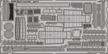 HAR.Mk.3 - Exterior [Hasegawa] · EDU 48671 ·  Eduard · 1:48