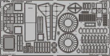 S-3 - Exterior [Italeri] · EDU 48696 ·  Eduard · 1:48