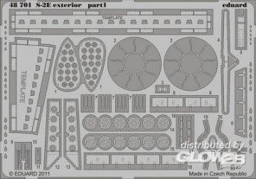 S-2E - Exterior [Kinetic] · EDU 48701 ·  Eduard · 1:48