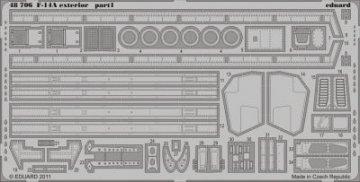 F-14A - Exterior [HobbyBoss] · EDU 48706 ·  Eduard · 1:48