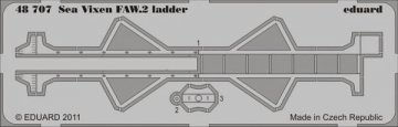 Sea Vixen FAW.2 - Ladder [Airfix] · EDU 48707 ·  Eduard · 1:48