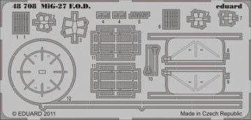 MiG-27 - F.O.D. [Italeri] · EDU 48708 ·  Eduard · 1:48