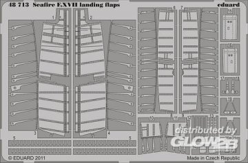 Seafire F.XVII - Landing flaps [Airfix] · EDU 48713 ·  Eduard · 1:48