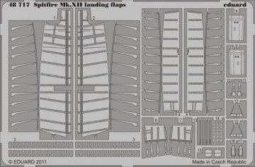 Spitfire Mk.XII - Landing flaps [Airfix] · EDU 48717 ·  Eduard · 1:48