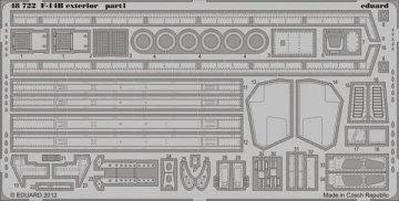 F-14B - Exterior [HobbyBoss] · EDU 48722 ·  Eduard · 1:48