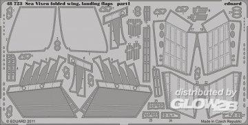 Sea Vixen - Landing flaps,folded wing [Airfix] · EDU 48723 ·  Eduard · 1:48