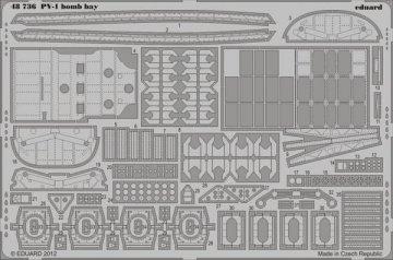 PV-1 - Bomb bay [Revell] · EDU 48736 ·  Eduard · 1:48