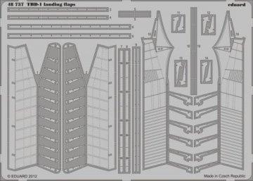 TBD-1 - Landing flaps [Great Wall Hobby] · EDU 48737 ·  Eduard · 1:48
