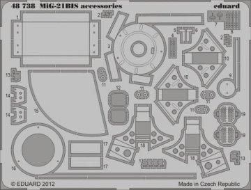 MiG-21 BIS accessories [Eduard] · EDU 48738 ·  Eduard · 1:48