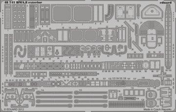 HMA.8 - Exterior [Airfix] · EDU 48741 ·  Eduard · 1:48