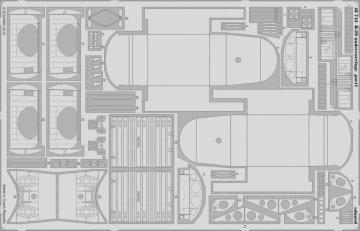 B-29 - Undercarriage [Monogram] · EDU 48743 ·  Eduard · 1:48
