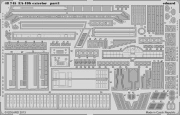 EA-18G - Exterior [Italeri] · EDU 48745 ·  Eduard · 1:48