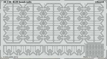 B-29 bomb tails [Monogram] · EDU 48746 ·  Eduard · 1:48