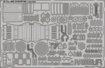 MiG-23M/ML/MF - Exterior [Trumpeter] · EDU 48755 ·  Eduard · 1:48