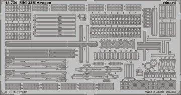 MiG-23M/ML/MF - Exterior [Trumpeter] · EDU 48756 ·  Eduard · 1:48