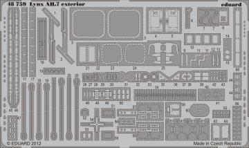 Lynx AH.7 - Exterior [Airfix] · EDU 48759 ·  Eduard · 1:48
