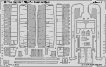 Spitfire Mk.IXc - Landing flaps [Eduard] · EDU 48765 ·  Eduard · 1:48
