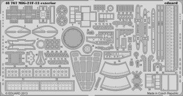 MiG-21F-13 - Exterior[Trumpeter] · EDU 48767 ·  Eduard · 1:48