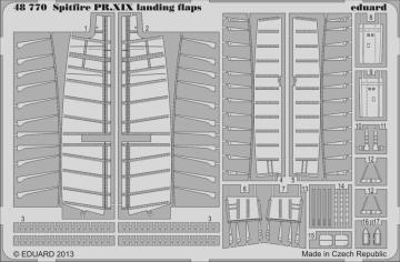 Spitfire PR.XIX - Landing flaps [Airfix] · EDU 48770 ·  Eduard · 1:48