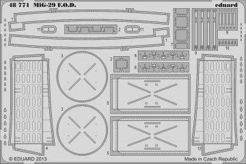 MiG-29 - F.O.D. [Great Wall Hobby] · EDU 48771 ·  Eduard · 1:48