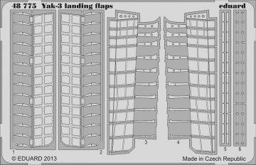 Yak-3 - Landing flaps [Zvezda] · EDU 48775 ·  Eduard · 1:48