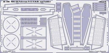 MiG-29 9-13 - F.O.D. and ladder [Great Wall Hobby] · EDU 48786 ·  Eduard · 1:48