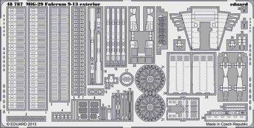 MiG-29 9-13 - Exterior [Great Wall Hobby] · EDU 48787 ·  Eduard · 1:48