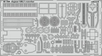 Jaguar GR.1 - Exterior [Kitty Hawk] · EDU 48789 ·  Eduard · 1:48