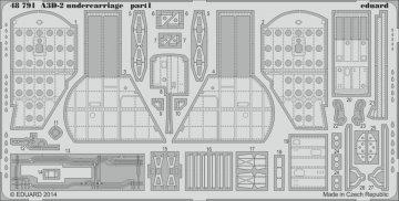 A3D-2 - Undercarriage [Trumpeter] · EDU 48791 ·  Eduard · 1:48