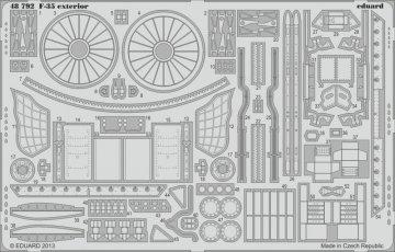 F-35B - Exterior [Kitty Hawk] · EDU 48792 ·  Eduard · 1:48