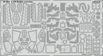 Aero L-29 Delfin - Exterior [AMK] · EDU 48801 ·  Eduard · 1:48