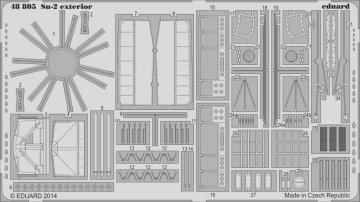 Su-2 - Exterior [Zvezda] · EDU 48805 ·  Eduard · 1:48