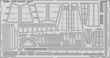 A-6A Intruder - Exterior [HobbyBoss] · EDU 48807 ·  Eduard · 1:48