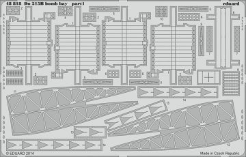 Dornier DO 215 B4 - Bomb bay [ICM] · EDU 48818 ·  Eduard · 1:48