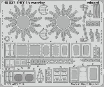 PBY-5A Catalina - Exterior [Revell] · EDU 48827 ·  Eduard · 1:48