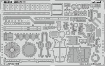 MiG-21PF [Eduard] · EDU 48828 ·  Eduard · 1:48