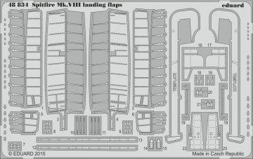 Spitfire Mk.VIII - Landing flaps [Eduard] · EDU 48834 ·  Eduard · 1:48