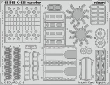 Beechcraft C45F / UC45F - Exterior [ICM] · EDU 48848 ·  Eduard · 1:48