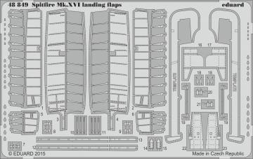Spitfire Mk.XVI - Landing flaps [Eduard] · EDU 48849 ·  Eduard · 1:48