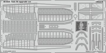 Yak-1b - Upgrade Set [Eduard] · EDU 48853 ·  Eduard · 1:48