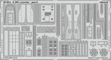 A-10C - Exterior [Italeri] · EDU 48854 ·  Eduard · 1:48