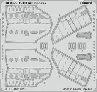 ROKAF Phantom F-4D - Air brakes [Academy] · EDU 48855 ·  Eduard · 1:48