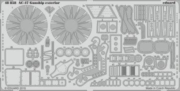 AC-47 Gunship - Exterior [Revell] · EDU 48858 ·  Eduard · 1:48