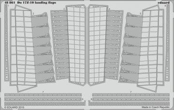 Dornier DO 17 Z-10 - Landing flaps [ICM] · EDU 48861 ·  Eduard · 1:48