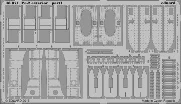 Petlyakov Pe-2 - Exterior [Zvezda] · EDU 48871 ·  Eduard · 1:48
