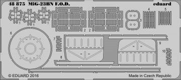 MiG-23BN - F.O.D. [Trumpeter] · EDU 48875 ·  Eduard · 1:48